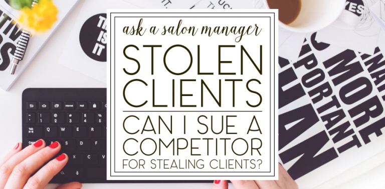"""[AASM] """"Can I sue for client theft?"""""""