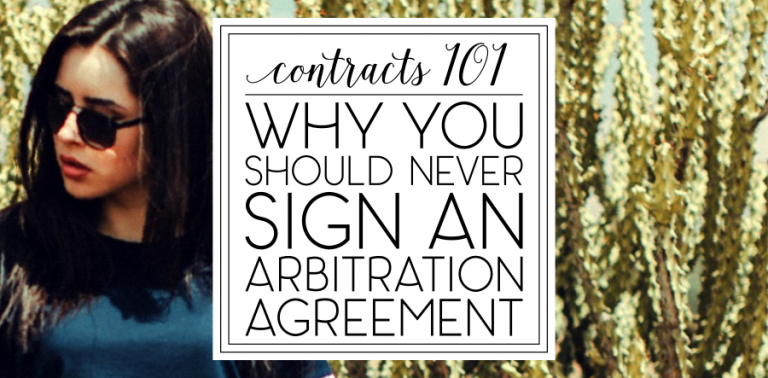 Contracts 101: Arbitration Clauses