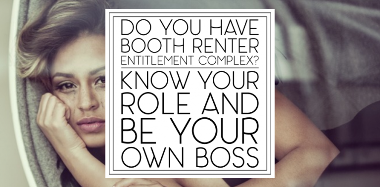 Booth Renters: Be Your Own Boss