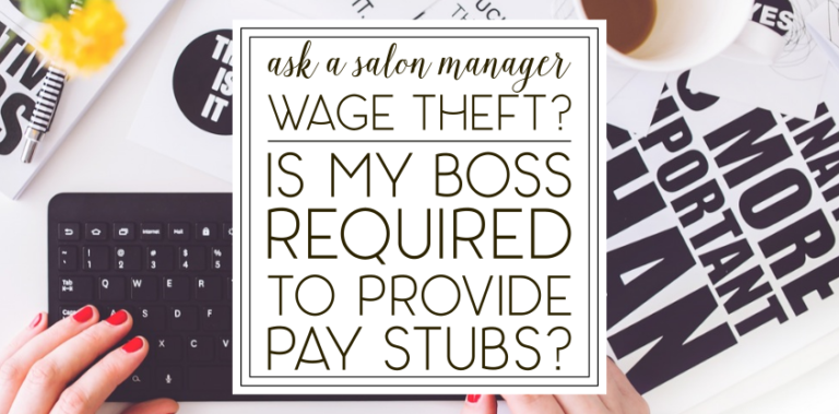 """""""Is my boss required to give me a detailed pay stub?"""""""