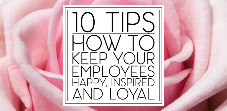 How To Keep Your Salon Employees Happy, Inspired, and Loyal