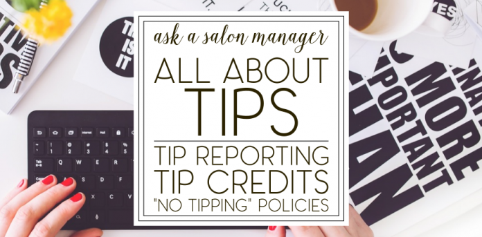 Aasm All About Tips Tip Credits Tip Reporting And No Tipping