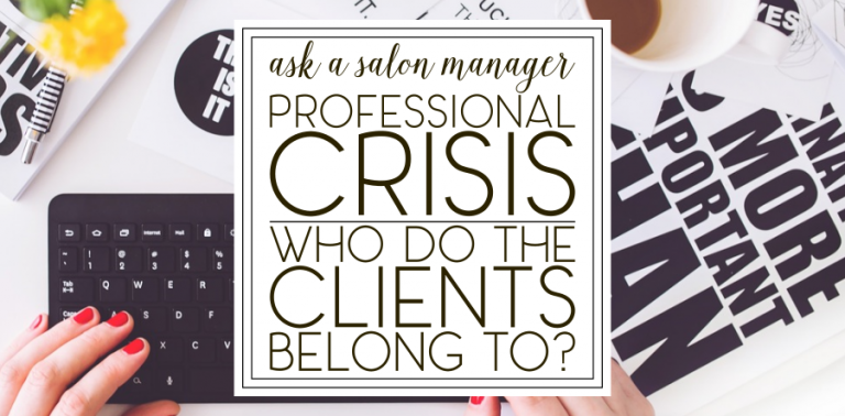 [AASM] Professional Crisis: Who do the clients belong to?