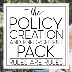 Policy Creation & Enforcement Pack Square
