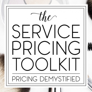 Service Pricing Toolkit Square
