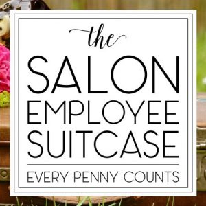 The Salon Employee Suitcase Square