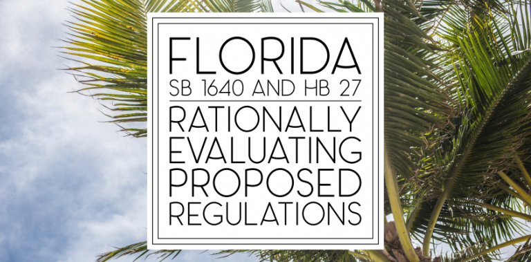 Florida SB 1640 and HB 27: The Good and The Bad